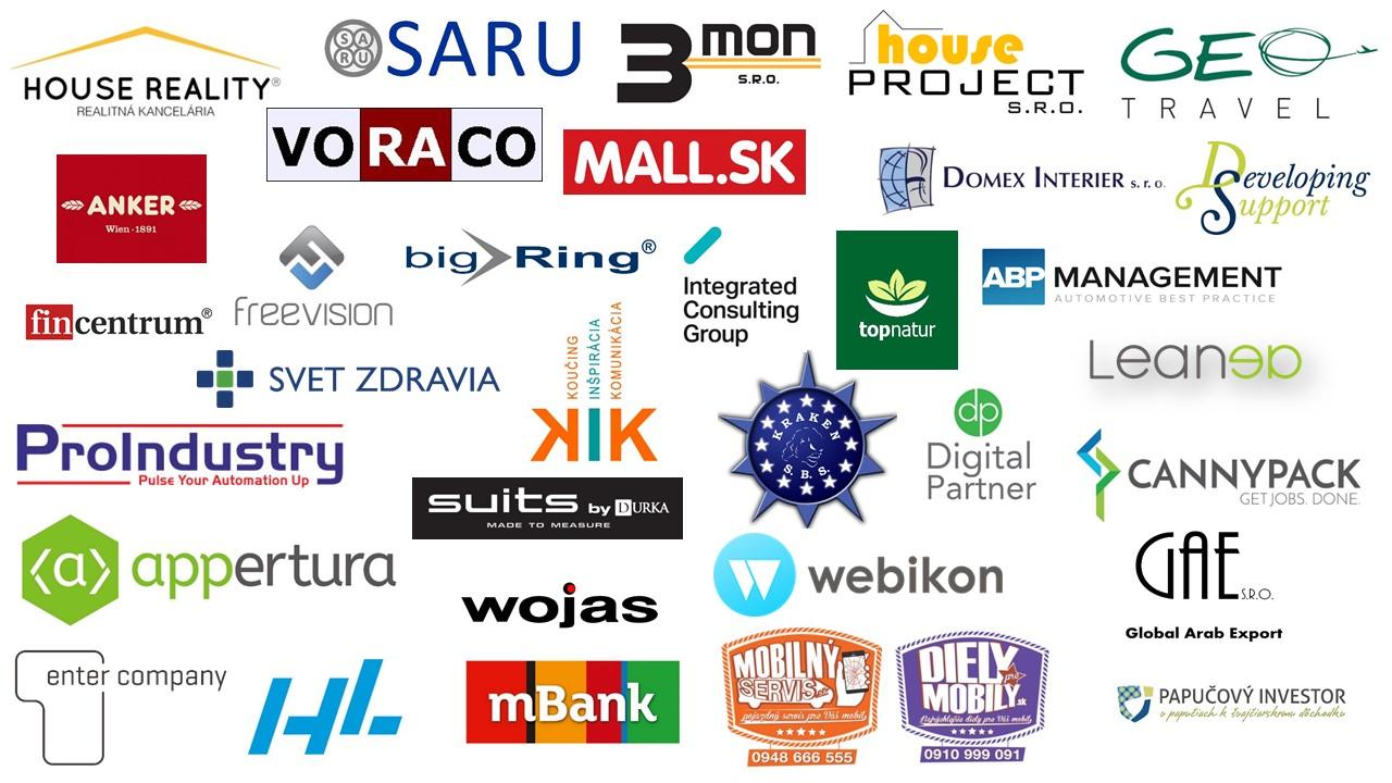 Partneri HUB Bratislava